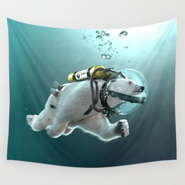Polar Bear - The Way of the Future Wall Tapestry