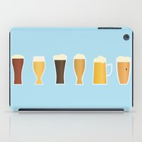 beer iPad Cases featuring Beer by Sara Showalter