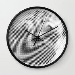 Pug Face Wall Clock