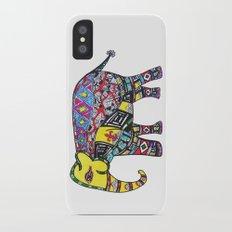 Fleur de Elephant  iPhone X Slim Case