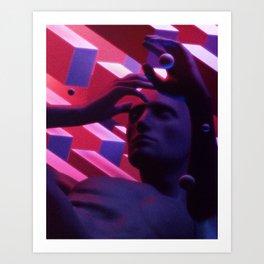 Consciousness II Art Print