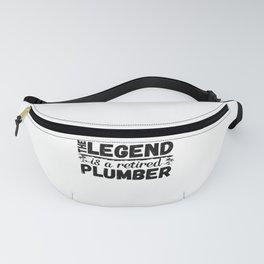 Retired Plumber Gift - Retirement Gifts Fanny Pack
