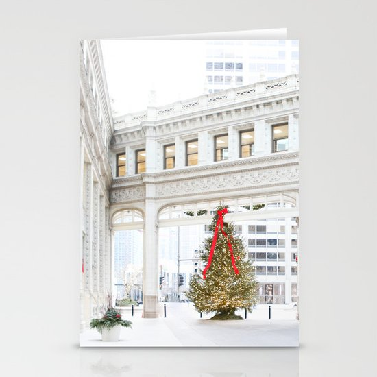 Magic on Chicago's Mag Mile Stationery Cards