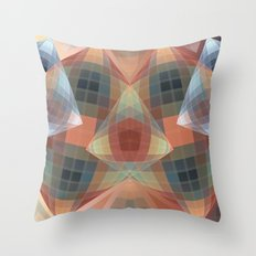 Diamonds and patterns, trendy geometric abstract Throw Pillow