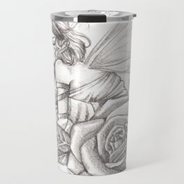 The Rose Thorn Faerie Travel Mug