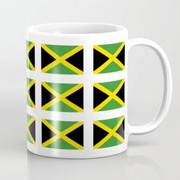 Flag of Jamaica 2-Jamaican,Bob Marley,Reggae,rastafari,cannabis,ganja,america,south america,ragga Coffee Mug