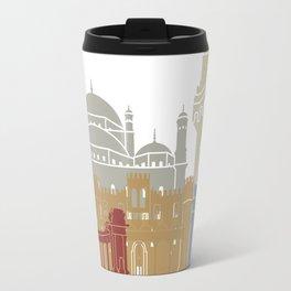 Alexandria skyline poster Travel Mug