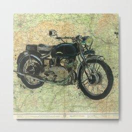 Vincent Comet - We were never born to follow Metal Print