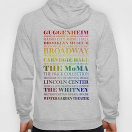 New York City - arts in color Hoody