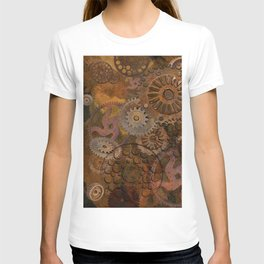 Changing Gear - Steampunk Gears & Cogs T-shirt