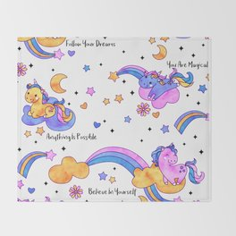 You Are Magical! Throw Blanket