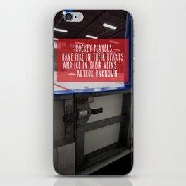 Hockey Passion iPhone Skin