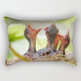 Baby Birds Rectangular Pillow