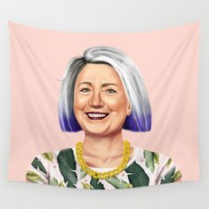 Hipstory - Hillary Clinton Wall Tapestry