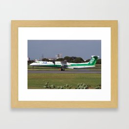 All Nippon Airways - ANA De Havilland Canada DHC-8-402Q Dash 8 Framed Art Print