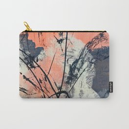 Perennial: abstract floral painting by Alyssa Hamilton Art Carry-All Pouch