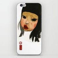 asian iPhone & iPod Skins featuring Asian Doll by Young Ju