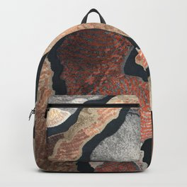 Colorful Abstract Shapes Backpack