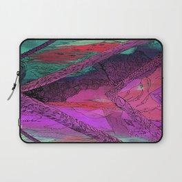 Purple Chevron Trippyness Laptop Sleeve