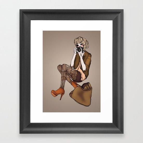 Frame it Framed Art Print