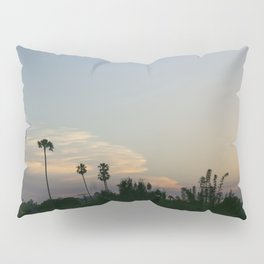 Venice Sunset (with Palm Trees) Pillow Sham