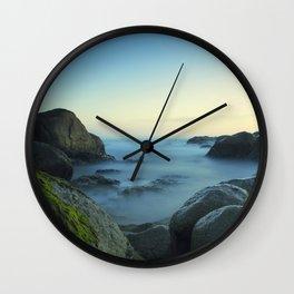 Milky Ocean II Wall Clock