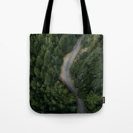 NATURE - PHOTOGRAPHY - FOREST - HIGHWAY - ROAD - TRIP - TREES Tote Bag