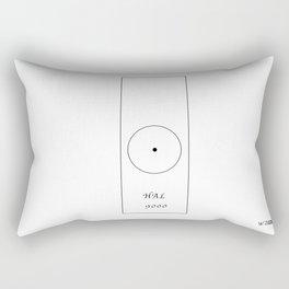 HAL 9000, by Will Zurmann Rectangular Pillow