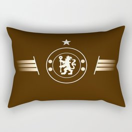 football team logo team Rectangular Pillow