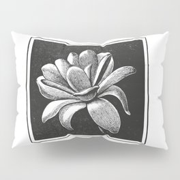 White flower Pillow Sham