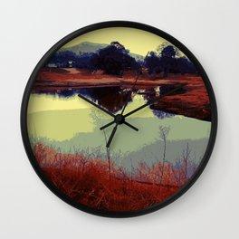 Twin Ponds Wall Clock