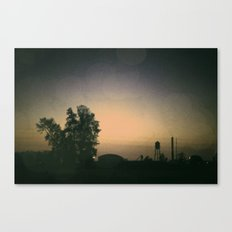 one october night. Canvas Print