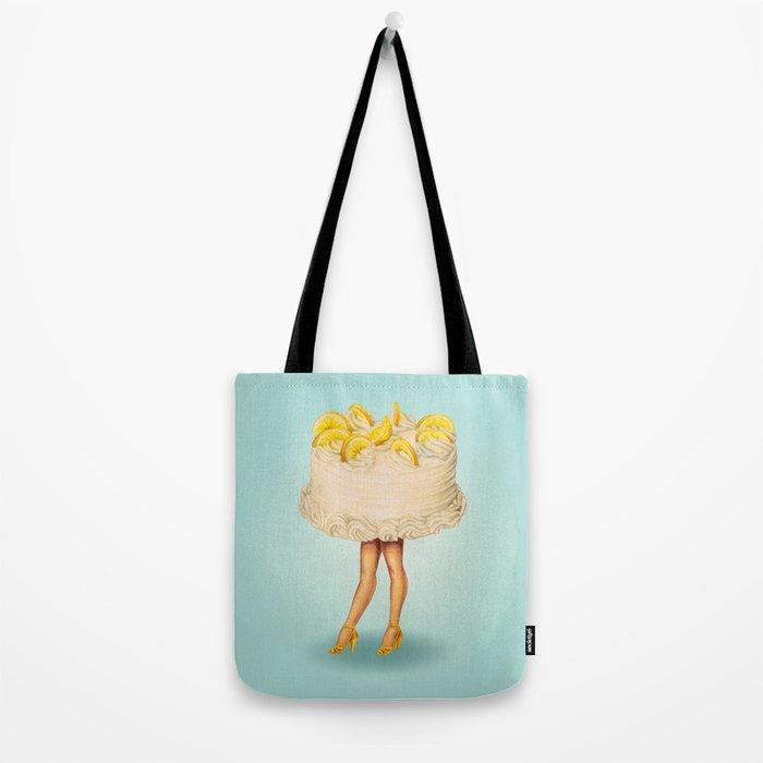 Cake Girl - Lemon Tote Bag