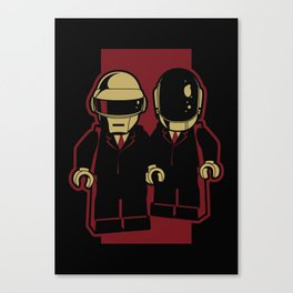 Daft Block Canvas Print