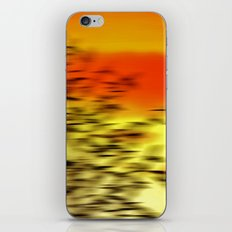 Warm whisper iPhone & iPod Skin