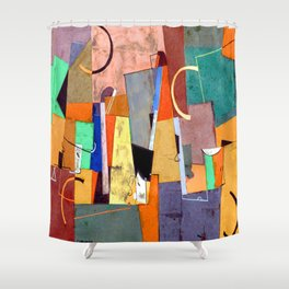 Georges Valmier Fugue Shower Curtain