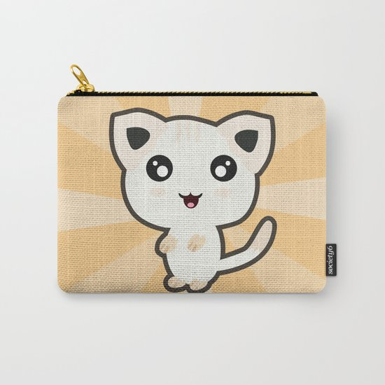 Kawaii Cat Carry-All Pouch