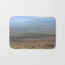 Shore of Woodbine Beach Bath Mat