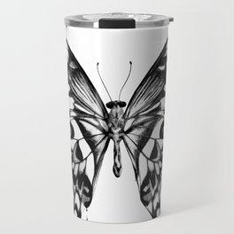 black butterfly Travel Mug