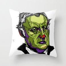 E. Munch Throw Pillow