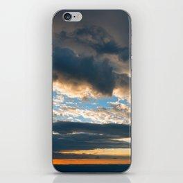 Vibrant Sunrise Cloudscape iPhone Skin