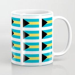 flag of Bahamas – Nassau,Bahamian,Bahamianese,Junkanoo,Regattas Coffee Mug