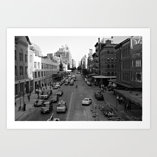 NYC Meat Packing Dsrt. Art Print