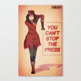 Fallout 4 Poster Series | Piper Canvas Print