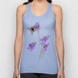 Watercolor Bumble Bee Unisex Tank Top