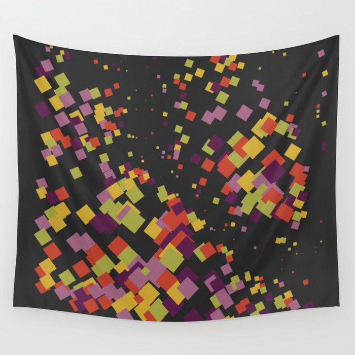 A company of friends Wall Tapestry