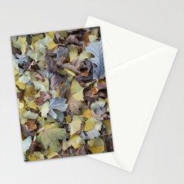 ginkgo potpourri Stationery Cards