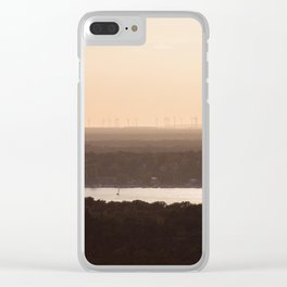 Modern Landscapes Clear iPhone Case