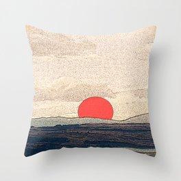 Tokyo drift Throw Pillow