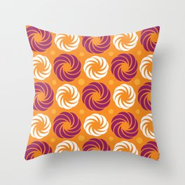 Sorbet Swirl Throw Pillow